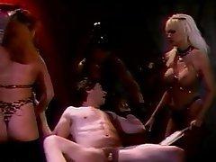 BDSM, Threesome, Big Boobs, Blonde