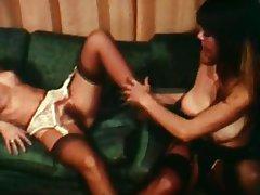 Lesbian, Stockings, Vintage