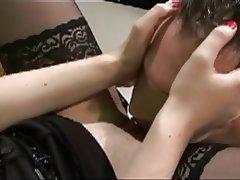 BDSM, Brunette, Femdom, German