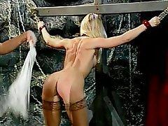 BDSM, Blonde, Brunette, Pantyhose