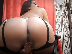 Big Butts, Masturbation, Stockings