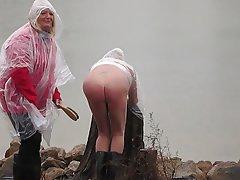 Amateur, Mistress, Outdoor, Spanking
