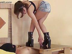 BDSM, Femdom, Foot Fetish, High Heels