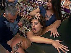 Public, Teen, BDSM