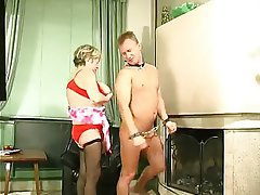 BDSM, Granny, Old and Young, Russian