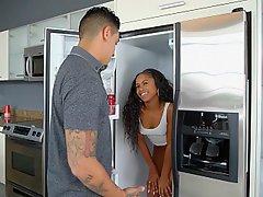 Ass, Kitchen, Black, Ebony