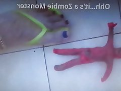 Femdom, Foot Fetish, Spanking