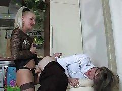 BDSM, Blowjob, Femdom, Russian