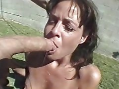 BDSM, Facial, Outdoor, Spanking