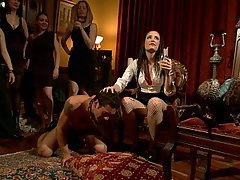 Brunette, Black, Femdom, Mistress