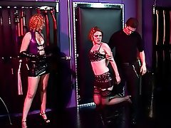 BDSM, Threesome, Redhead, Pantyhose