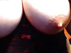 Big Boobs, Lingerie, Masturbation, Nipples