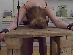 Amateur, BDSM, Blonde