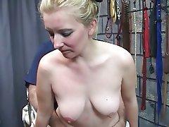 BDSM, Blonde, Blowjob, MILF
