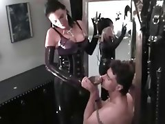 Big Boobs, Brunette, Femdom, German