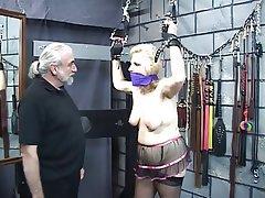 BDSM, Blonde, MILF, Foot Fetish