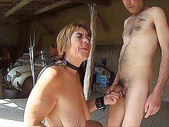 BDSM, Blowjob, Cumshot, Masturbation