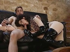 BDSM, French, Group Sex, Latex