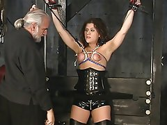 BDSM, Brunette, Mature, Lingerie