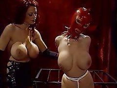 BDSM, Lesbian, Redhead, Femdom